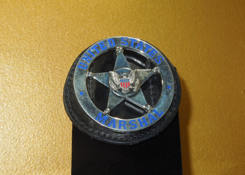 In Plain Sight US Marshal badge prop