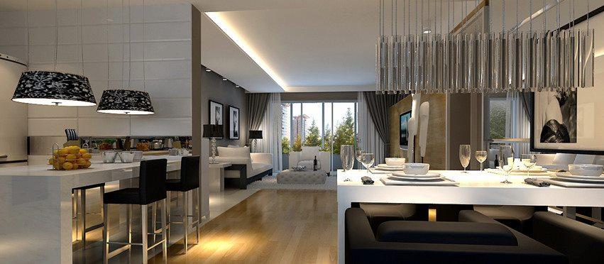 18 Essas salas são bem amplas e muito sofisticadas! A bancada da