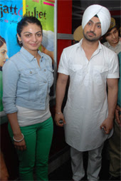 Diljit Dosanjh Hair Cut http://prepunjabi.blogspot.com/2012/06/diljit-dosanjh-and-neeru-bajwa-on.html