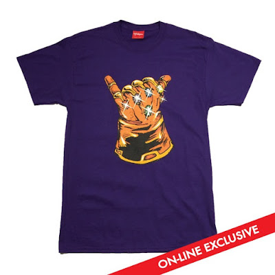 "Online Exclusive Marvel's Infinity Gauntlet ""Infinity Shaka"" T-Shirt by Lightsleepers"