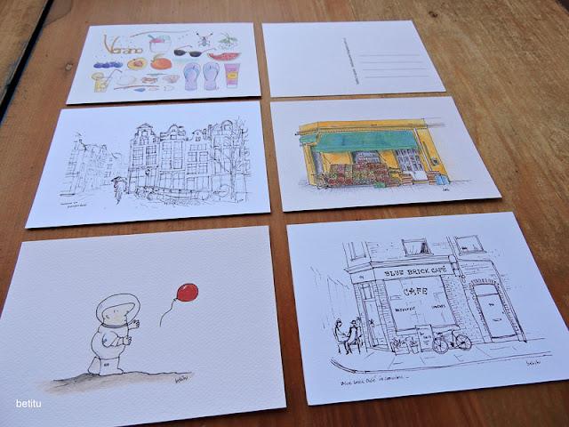postcards by betitu's quest