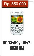 Spesifikasi Dan Harga BlackBerry Curve 8530