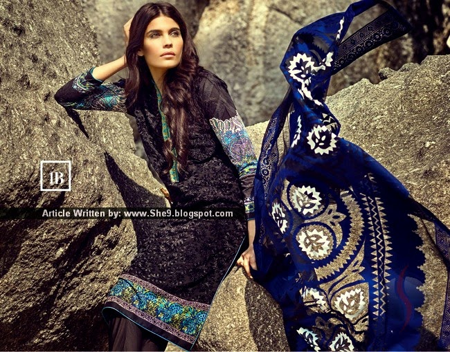 Sana Safinaz Spring Summer Lawn Collection 2015