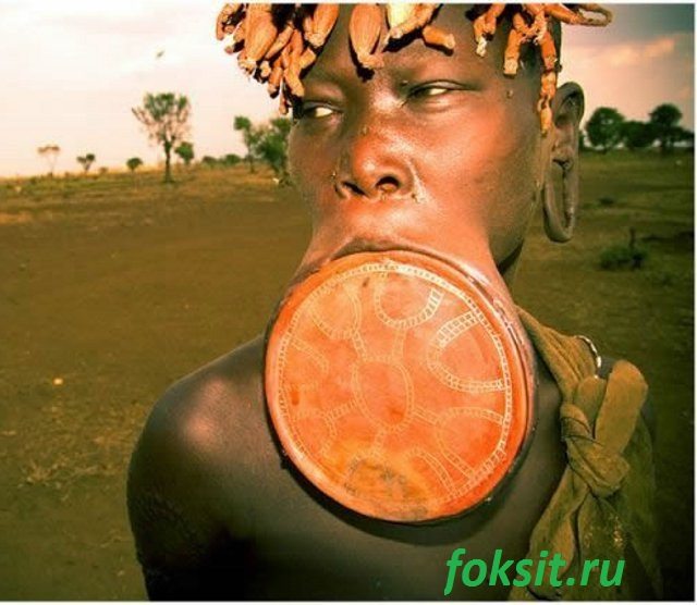 девушка из аыфриканского племени