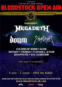Bloodstock Open Air festival 2014