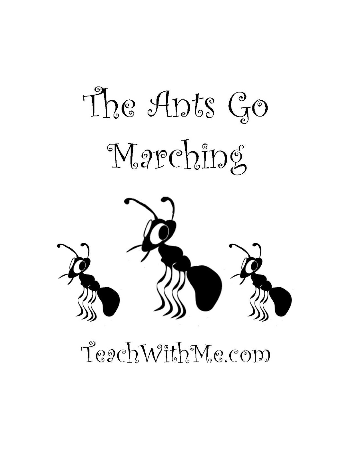 ants go marching coloring pages - photo#21