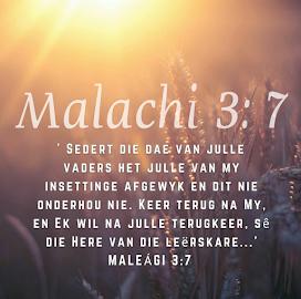 Maleagi 3: 7