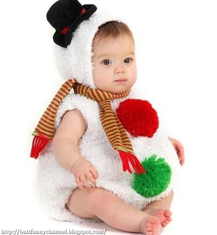 Baby Snowman.