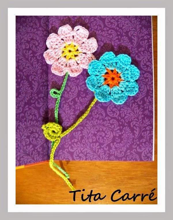 Marcadores de livros que são Flores