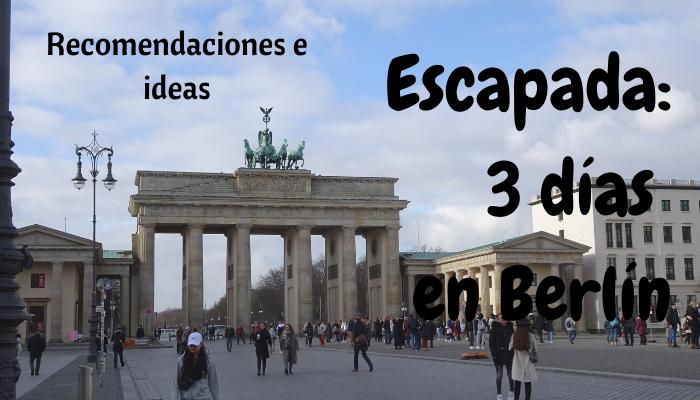 Diario de Viaje a Berlín