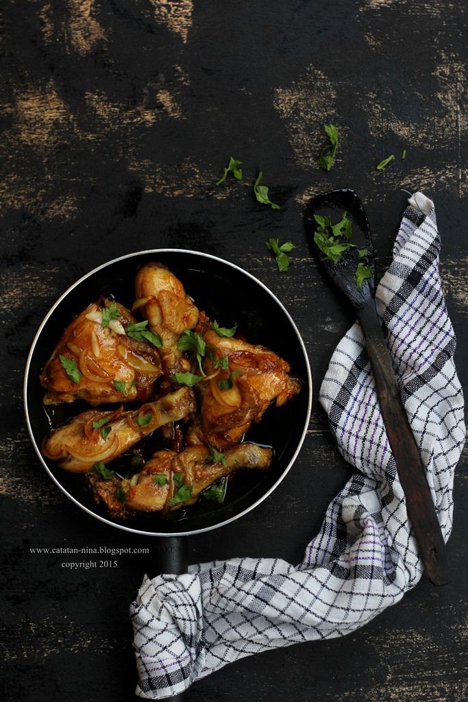 Resep Ayam Goreng Mentega Catatan Nina