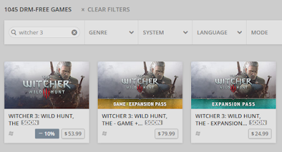 The WITCHER 3: WILD HUNT ON gog.com