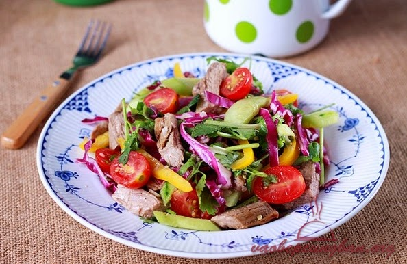 Cách làm Salad thịt bò kiểu Thái