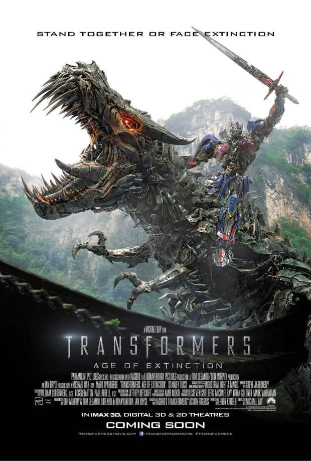 Transformers Age Of Extinction new IMAX Poster