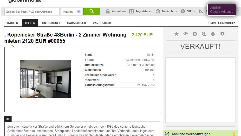 26 juni 2012 for 2 zimmer wohnung berlin mieten