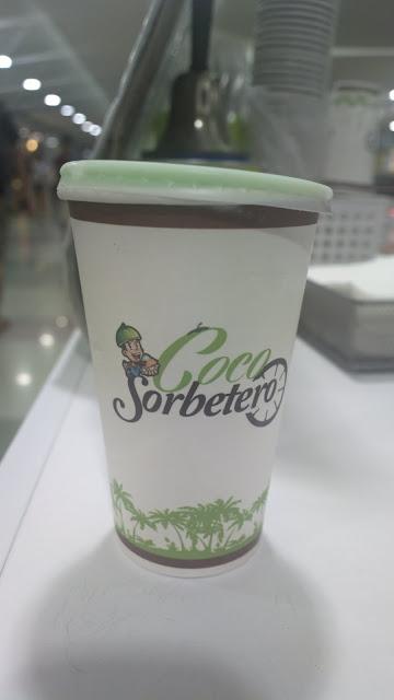 coconut water avocado ice cream shake