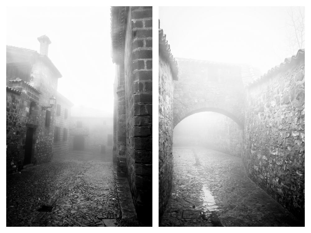El Diván Azul: Baeza entre nieblas