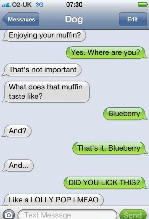 Hey, Enjoying Your Muffin?