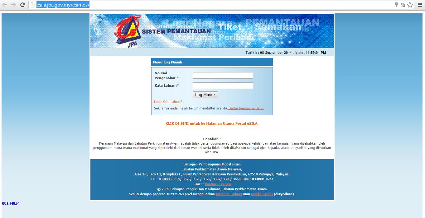 Muat Turun Borang Spa 1 L Carta De