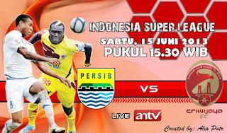 Prediksi Skor Persib Bandung vs Sriwijaya FC 15 Juni 2013 ISL
