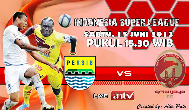 Liga Indonesia Super League ISL 2013 pada hari Sabtu, 15 Juni 2013