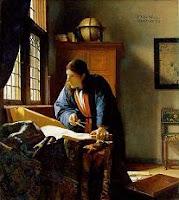 Vermeer schilderij De Geograaf