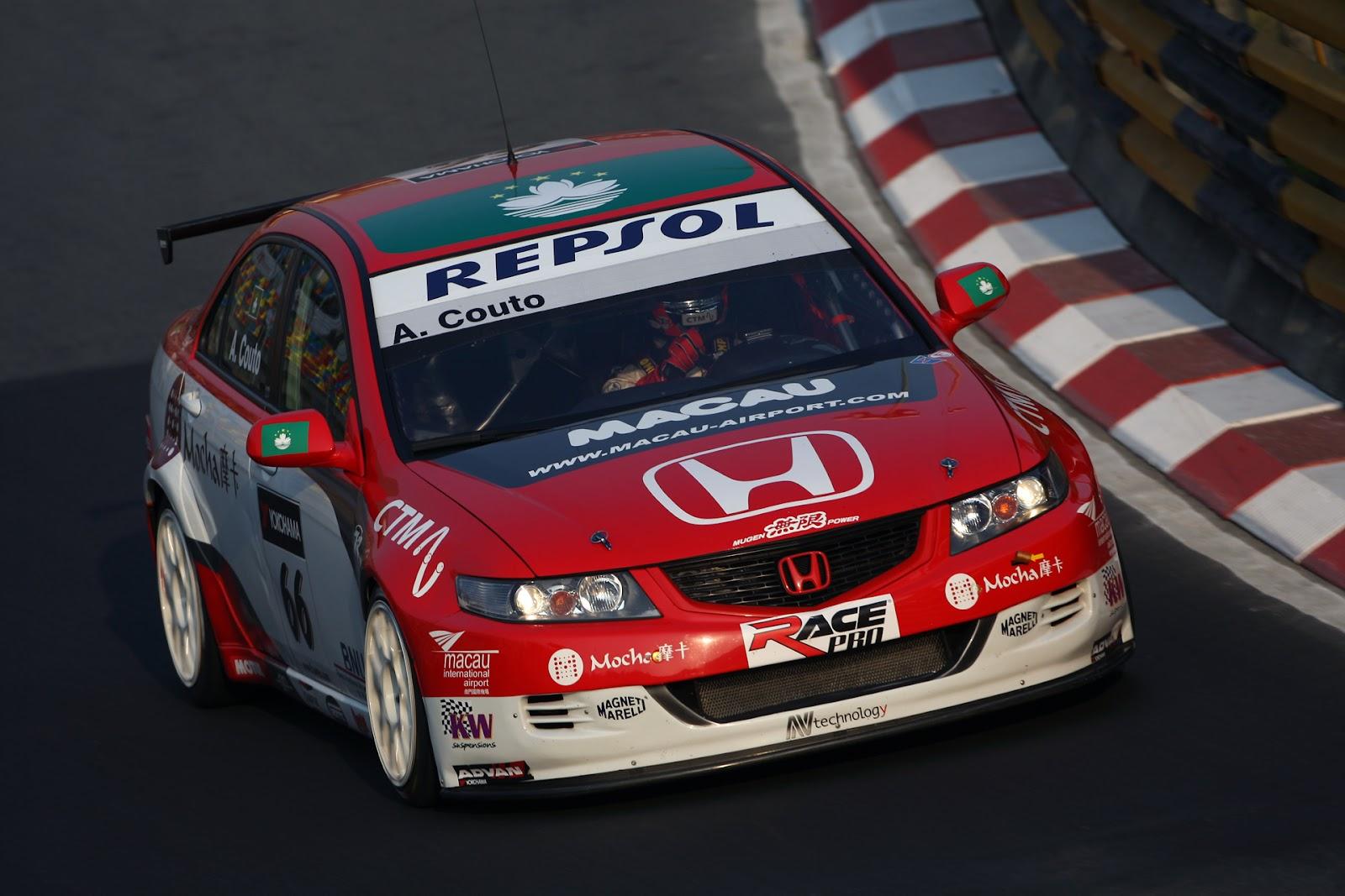 Honda Accord VII, WTCC, sportowe sedany