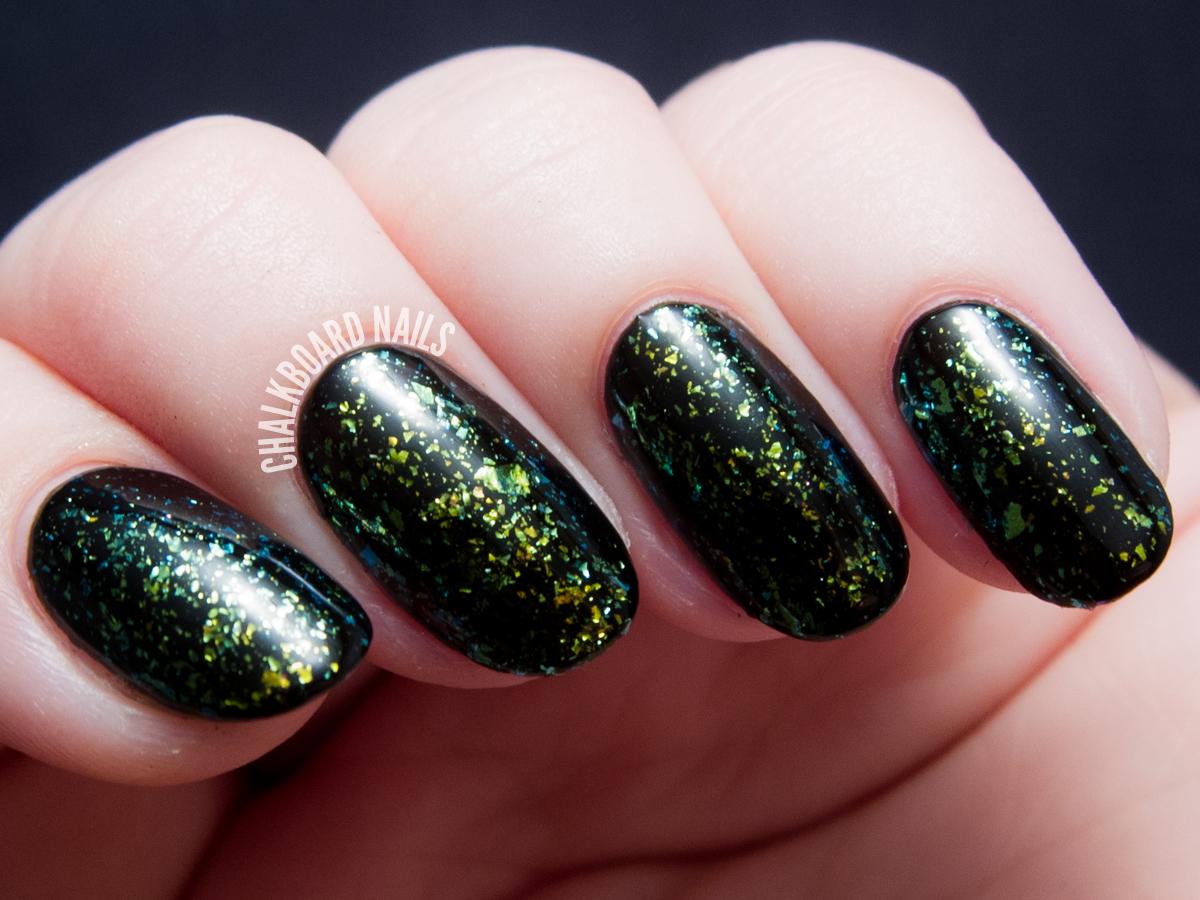 I Love Nail Polish - Open Fields via @chalkboardnails