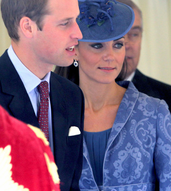 Kate's Sapphire And Diamond Earrings Have Apparently Been Refashioned