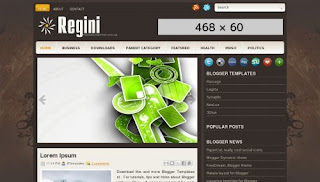 Regini Blogger Templates