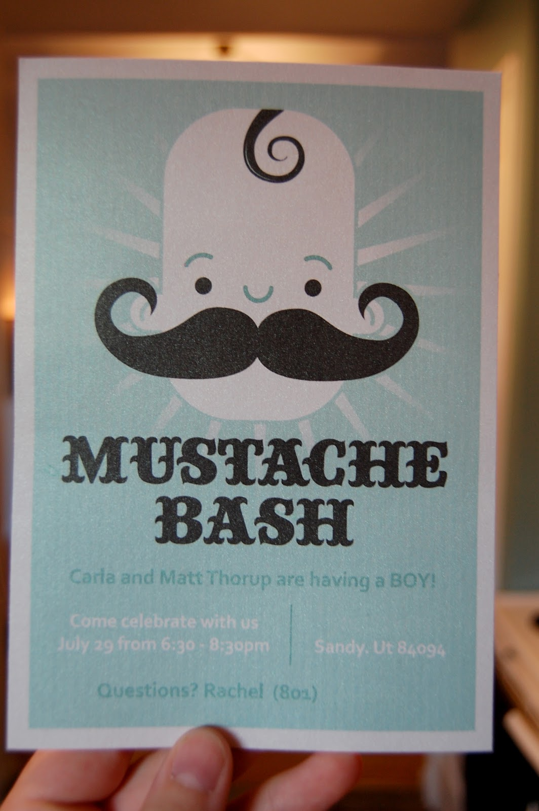 mustache bash invites for sale on etsy they are designed by my