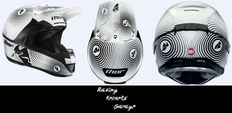 Racing helmets garage thor force 2013 for Garage le thor