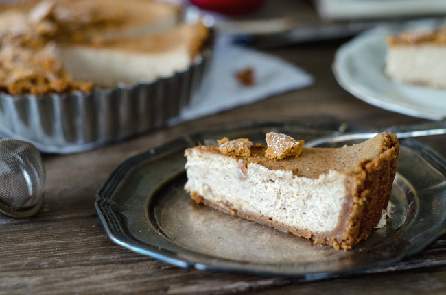 Louise´s Spis: Vanilla Chai Spiced Cheesecake Pie
