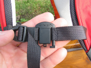 Magnet on Chest Strap for Drinking Hose - Hydrapak
