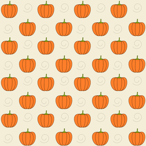 Free digital pumpkin scrapbooking paper - ausdruckbares ...