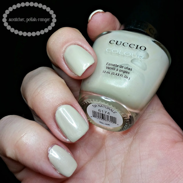 swatcher, polish-ranger | Cuccio Colour Oh Naturale swatch