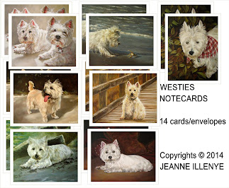 14 WESTIE NOTECARDS & /ENVELOPES
