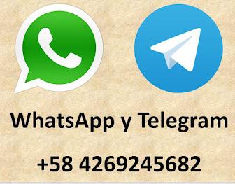 Mi WhatsApp y Mi Telegram
