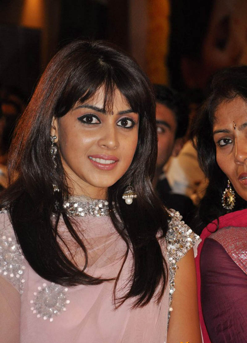 genelia d souza without makeup natural beauty wallpapers genelia dGenelia Hairstyle In Force