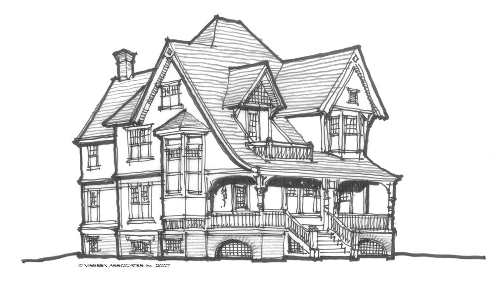 Architectural Tutorial Victorian Style