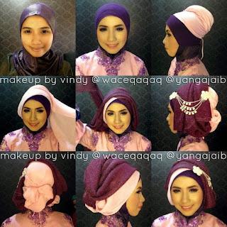 Kumpulan Tutorial Hijab Kebaya Simpel dan Modern