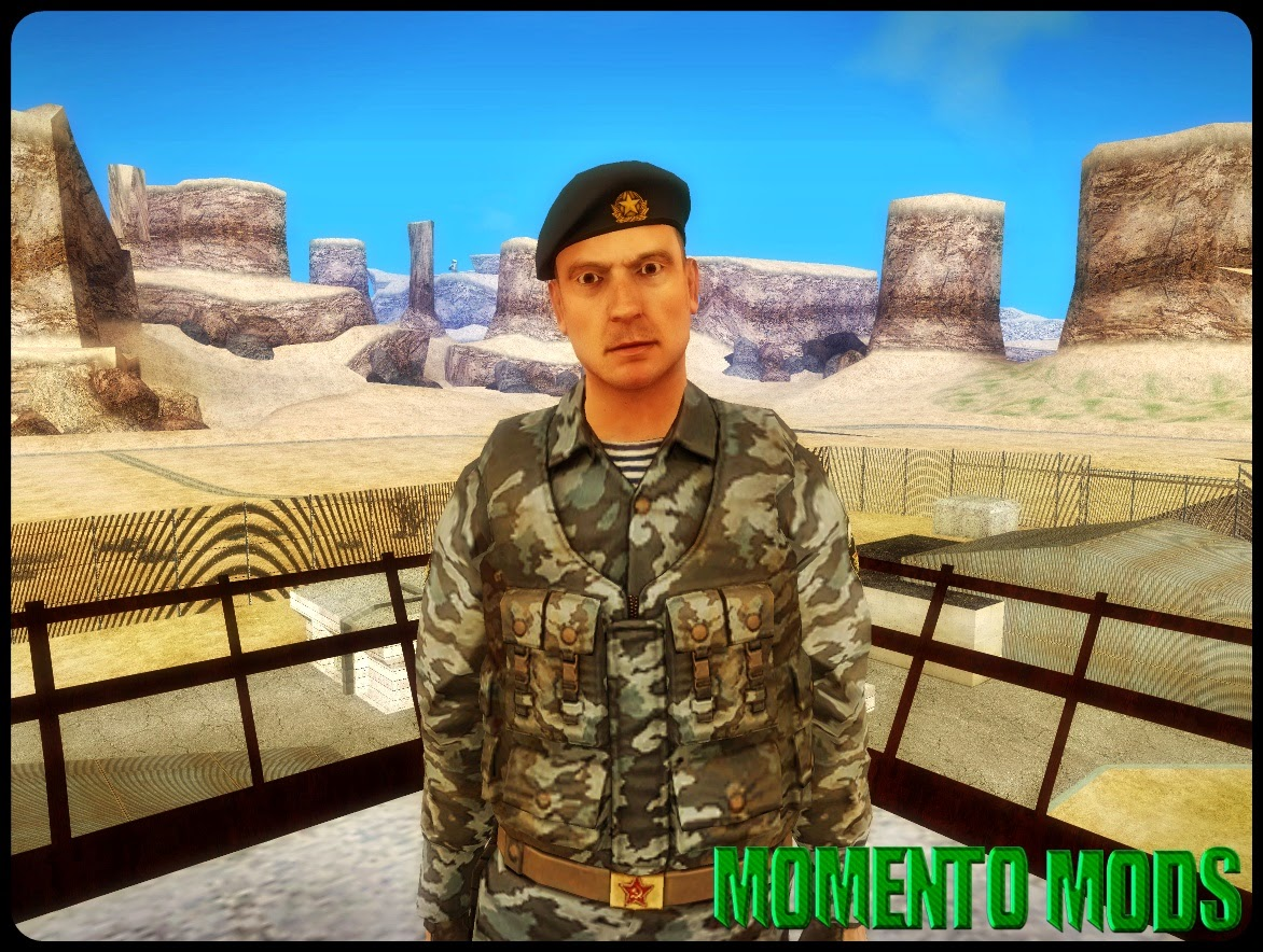 GTA SA - Skin Do Soldado Russo