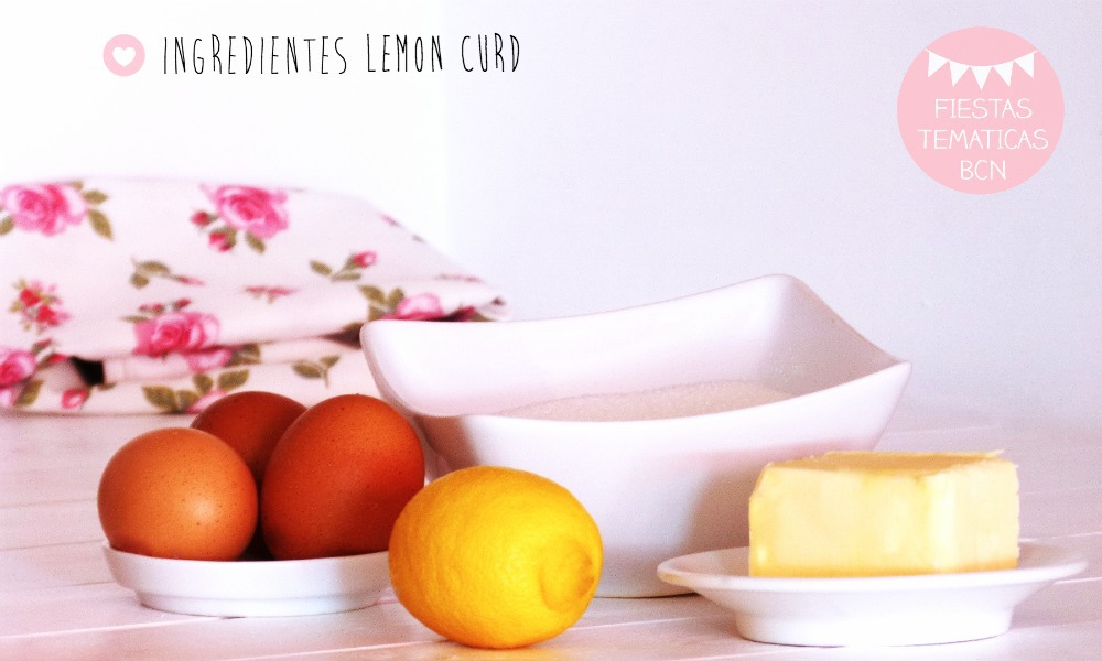 receta lemon curd