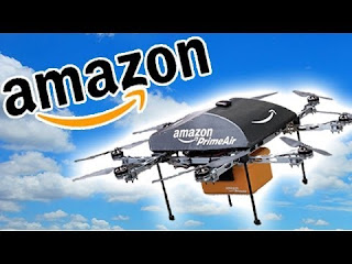 Amazon, patentë për avion pa pilot për dërgimin e porosive nga interneti