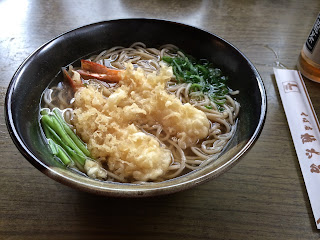 Soba Noodle soup in Tokyo