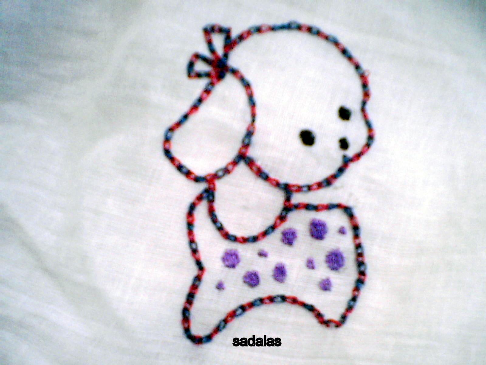 Sadala's Embroidery: Magic Chain Stitch