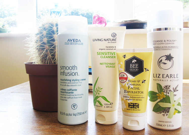 New In from Aveda, Living Nature, Bee Good & Liz Earle