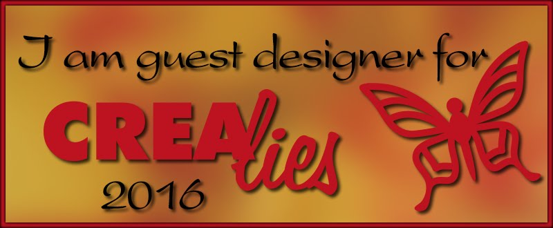 Guest designer Crealies 2016