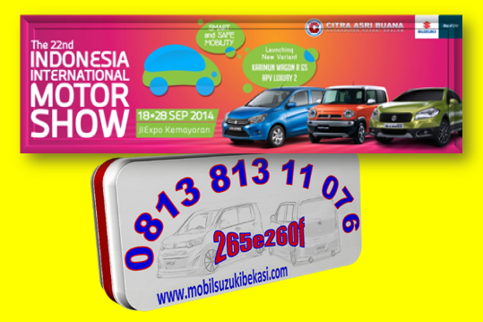 Indonesia International Motor Show 2014