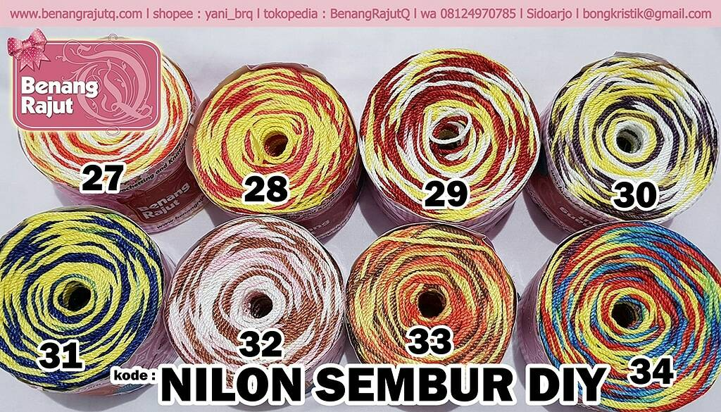 NILON SEMBUR D27